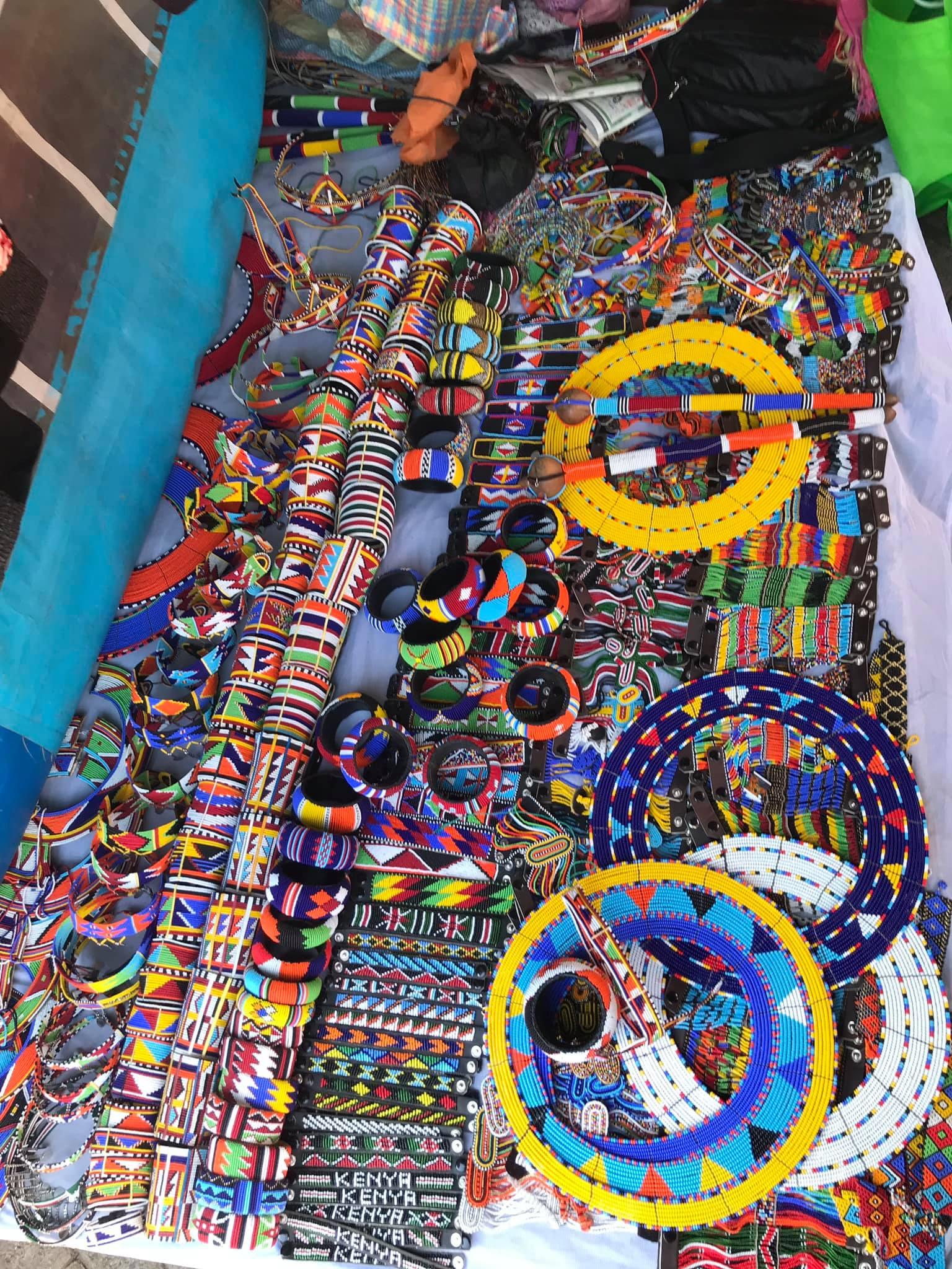 No way I wasn't going to raid the Maasai Market. Whats really cool about this is that it moves to various different malls and venues through out the week. Love the concept of having traditional markets at the malls.