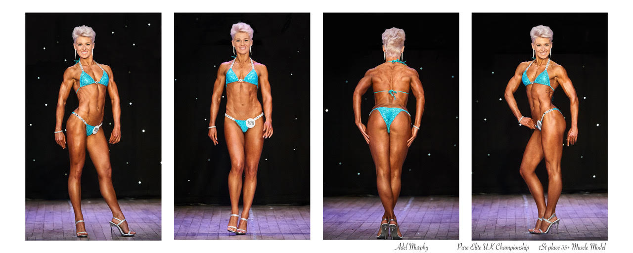 Pure Elite Uk Championship - 1st Place +35 Muscle Model