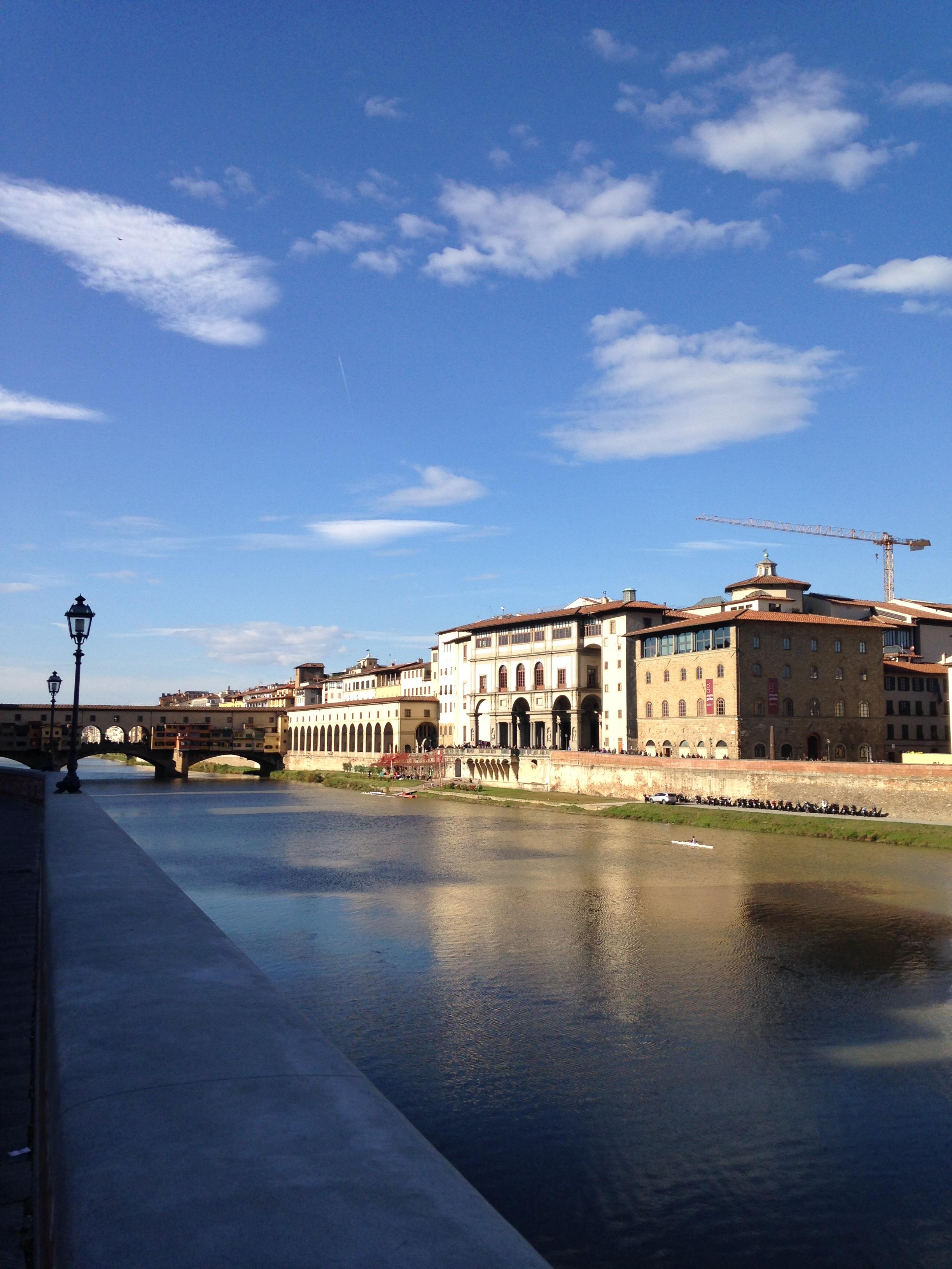 November Florence 2017 uffizi gallery without the crowds