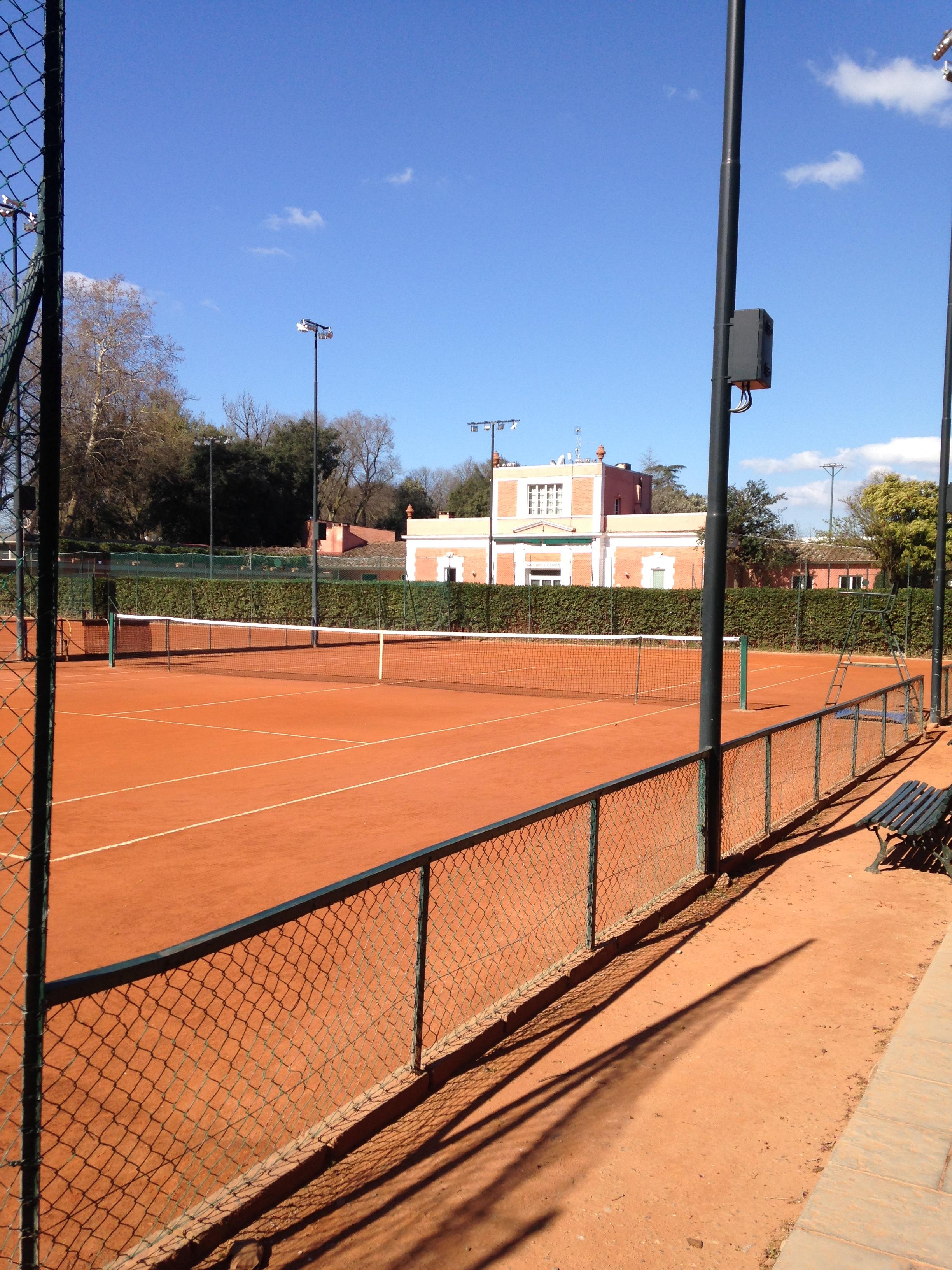 Le Cascine park: Circolo Tennis Firenze