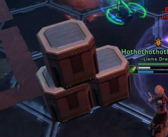 Fig. 6: These stacked crates also provide cover.