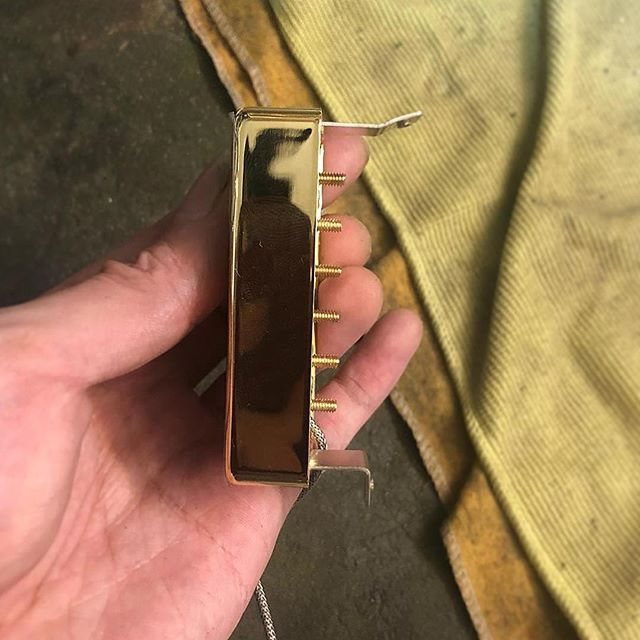 Modifying Humbucker pickup for direct mounting on an archtop #moffa #moffaguitars #luthiersg #singapore #luthier #masterluthier #waynelim #guitarplayers #guitarplayer #guitarists #guitarist #guitars #guitar #awesomeguitars #guitarporn #musicians #musician #guitaroftheday #photography #photos #photo #famousguitars #singapore #guitarrepair #luthiers #luthiery #guitarrepairs #sgluthier #repair #repairs #photooftheday