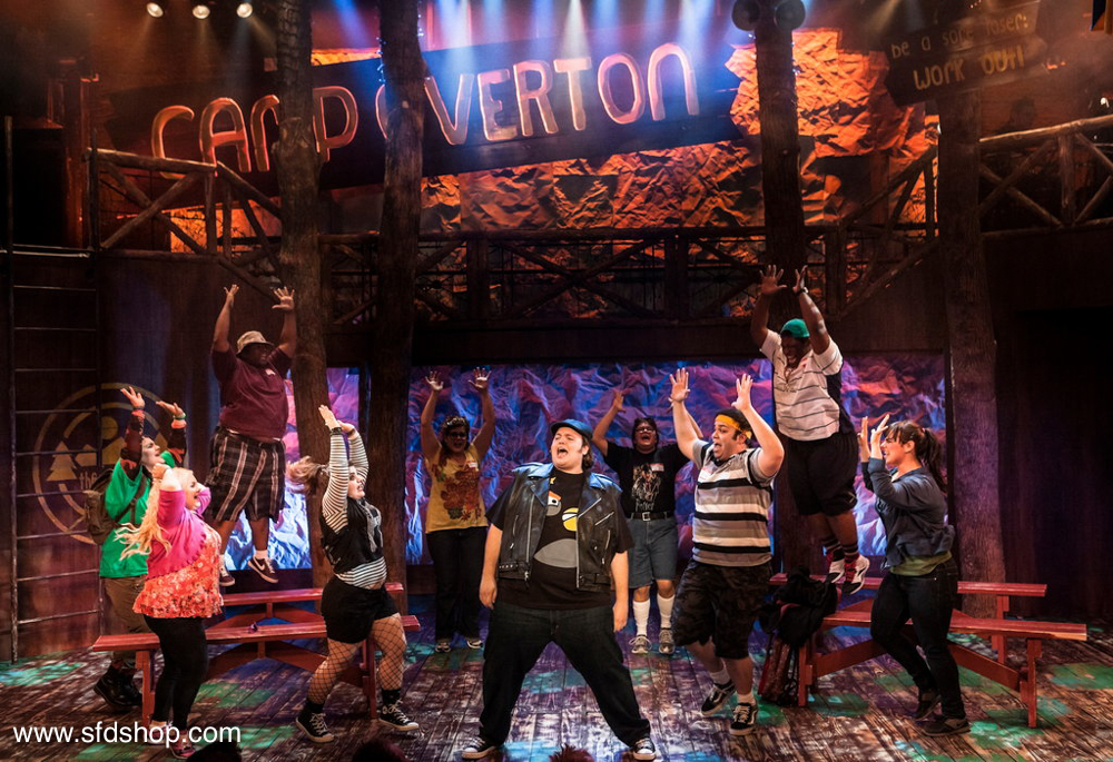 Fat Camp the Musical set fabricated by SFDS 2.jpg