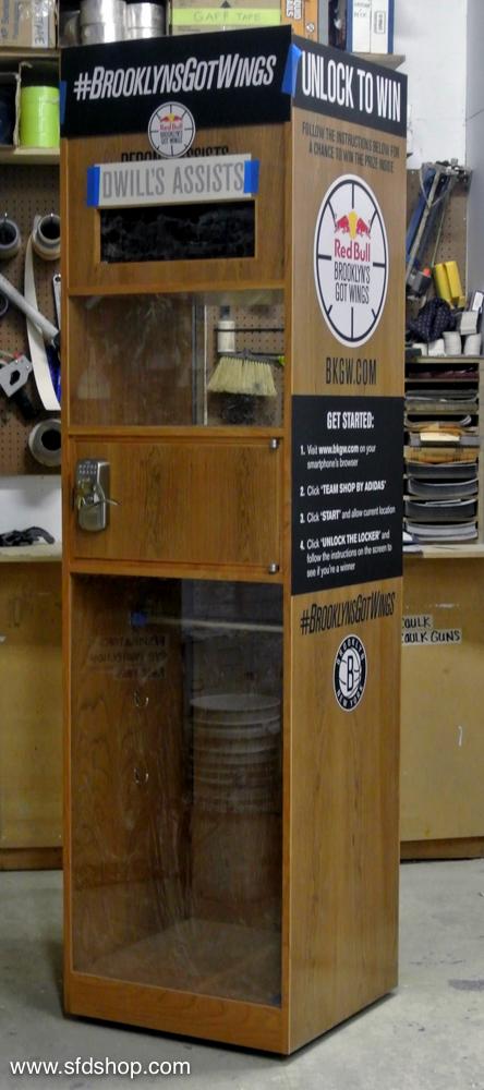 Barclay's Redbull lockers fabricated by SFDS -1.jpg