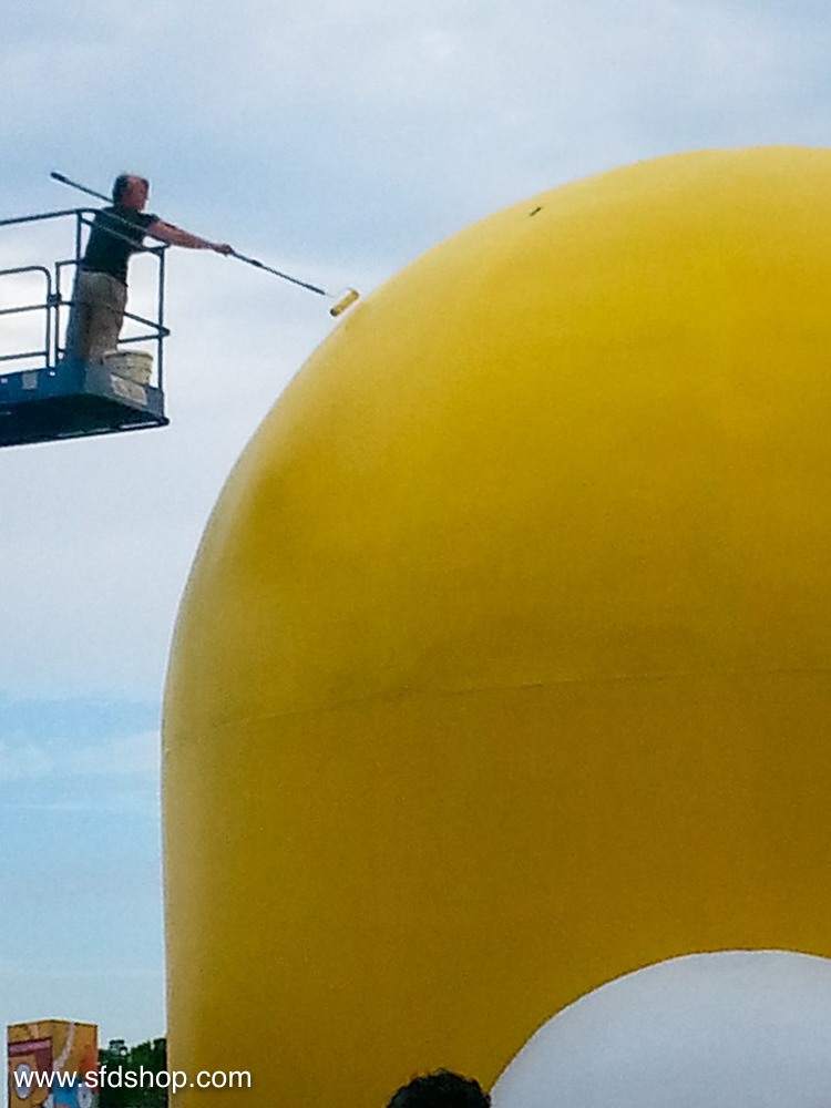 Simpsons SDCC HomerDome fabricated by SFDS -16.jpg