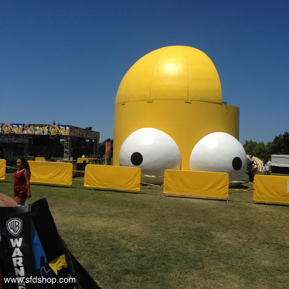 Simpsons SDCC HomerDome fabricated by SFDS -13.jpg