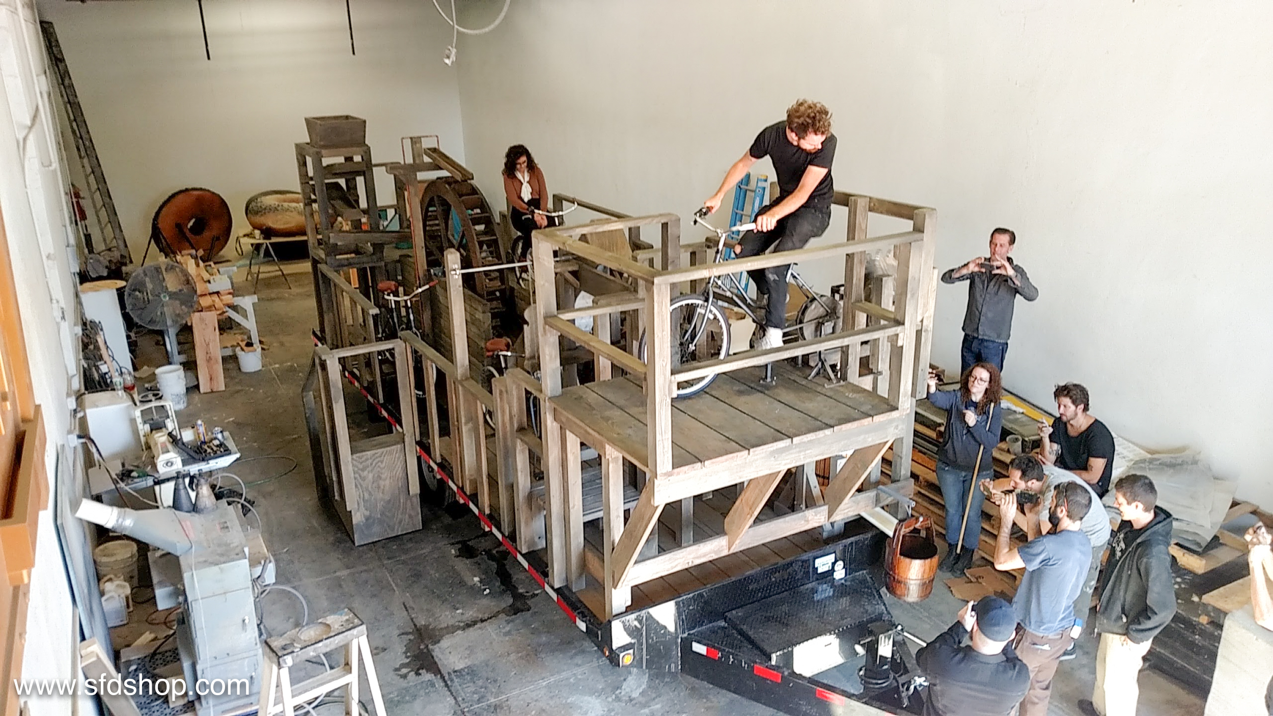 Hill Holliday cider pedal press fabricated by SFDS -8.jpg