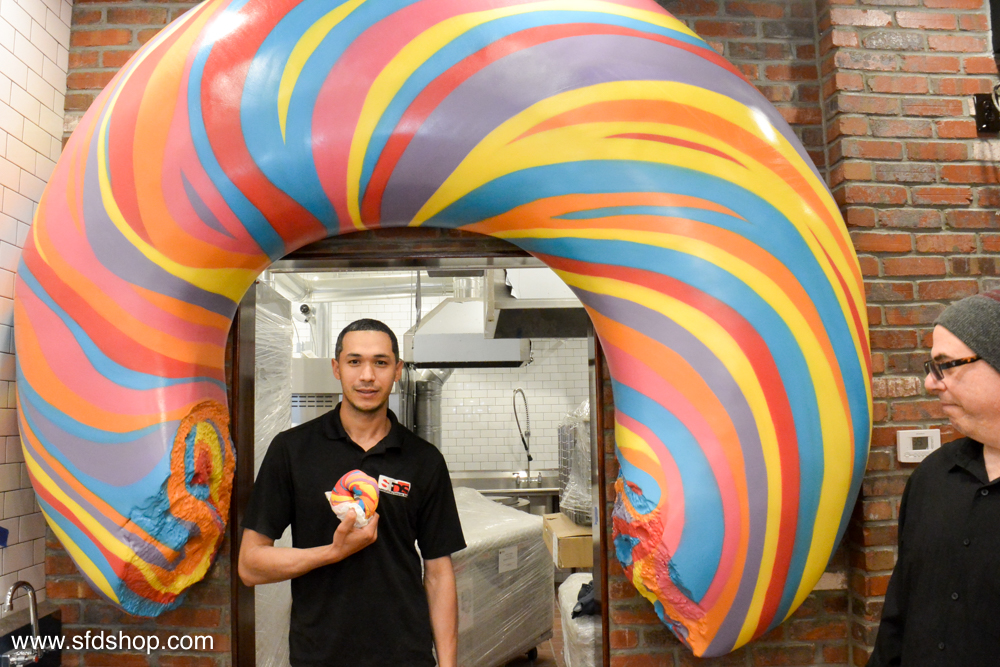 The Bagel Store rainbow bagel fabricated by SFDS-17.jpg