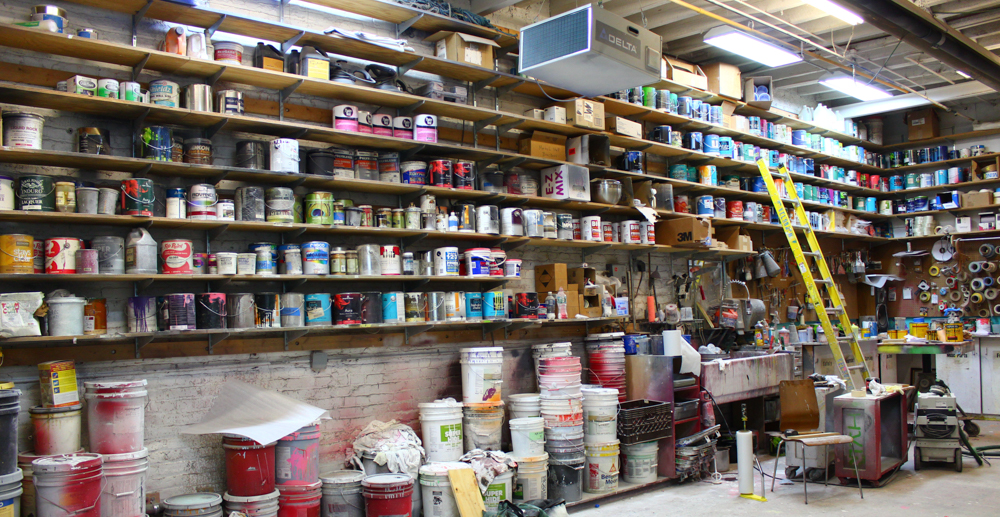 PAINTING - Our in-house paint shop is home to some of NYC's most skilled artists, and we offer a huge selection of top-quality pigments in dozens of finishes. We use state-of-the-art mixing and color-matching to create Pantone-perfect hues that are both accurate and striking.