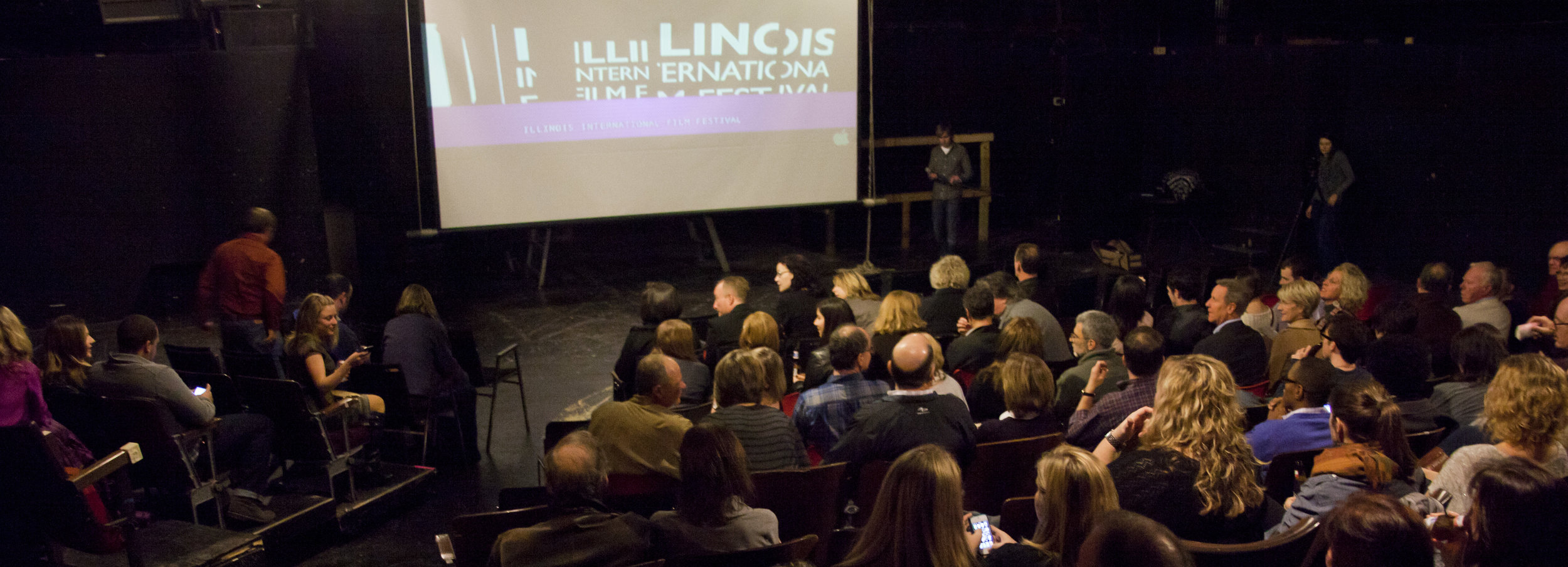 Screening at Illinois International Film Festival