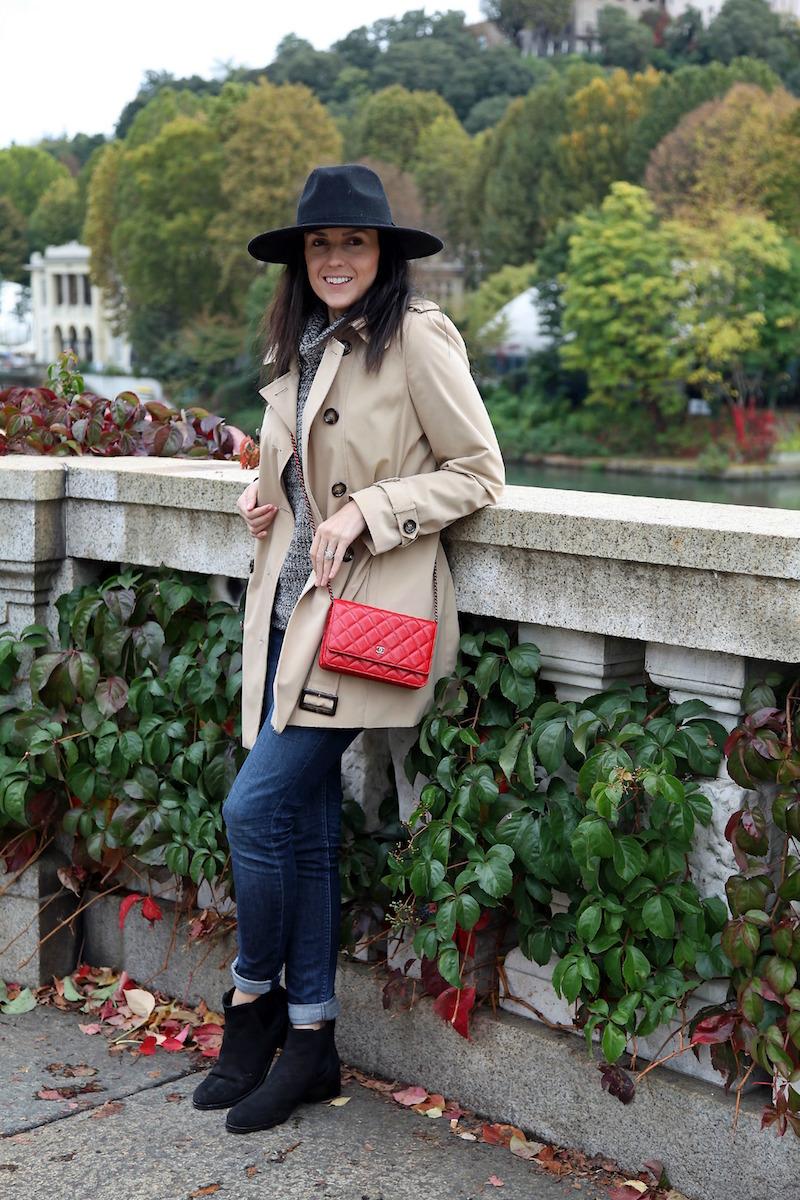 Calvein-Klein-Trench-Coat-Red-Chanel-Bag-in-Italy.jpg