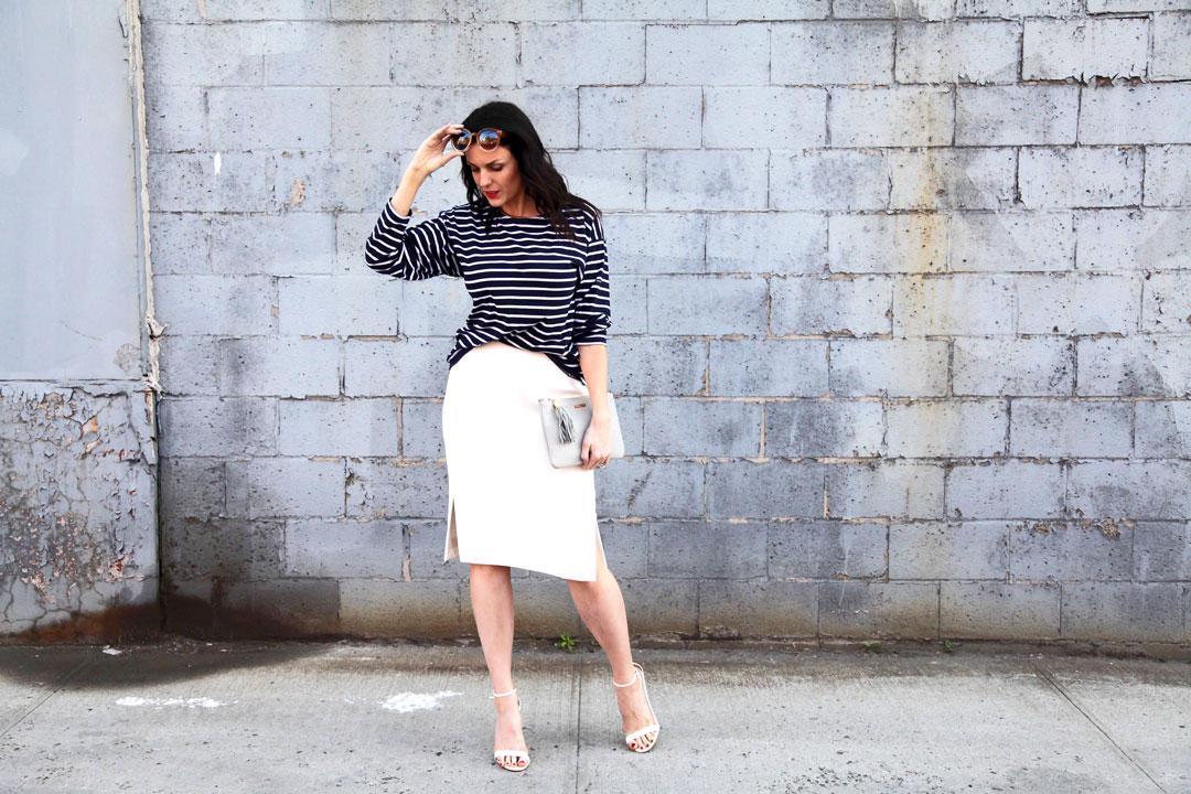 J.Crew-white-skirt-and-Armor-Lux-Striped-Shirt-2.jpg