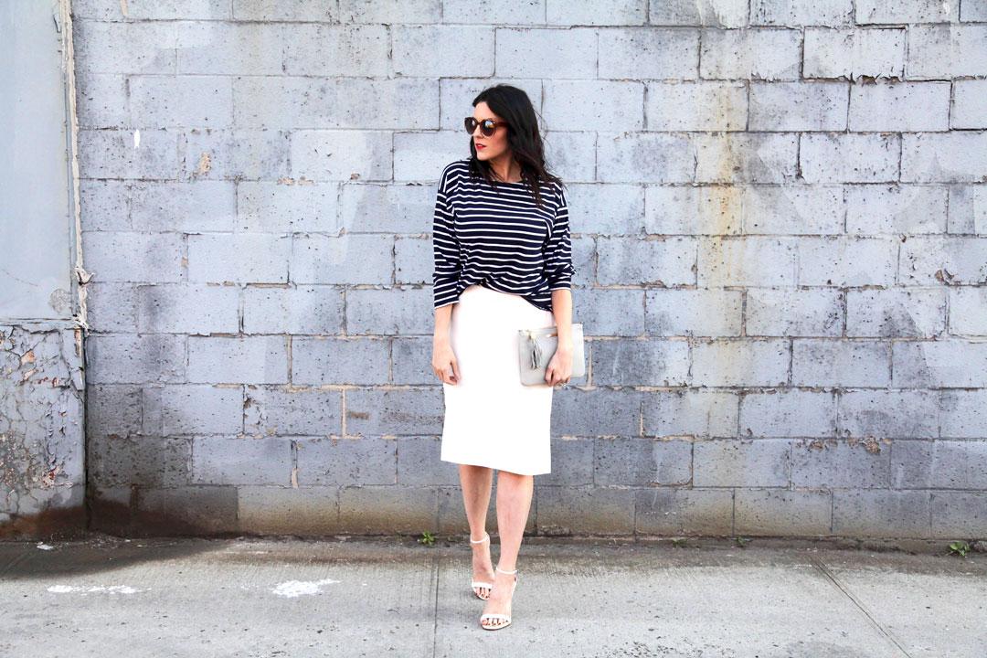 J.Crew-white-skirt-and-Armor-Lux-Striped-Shirt-3.jpg