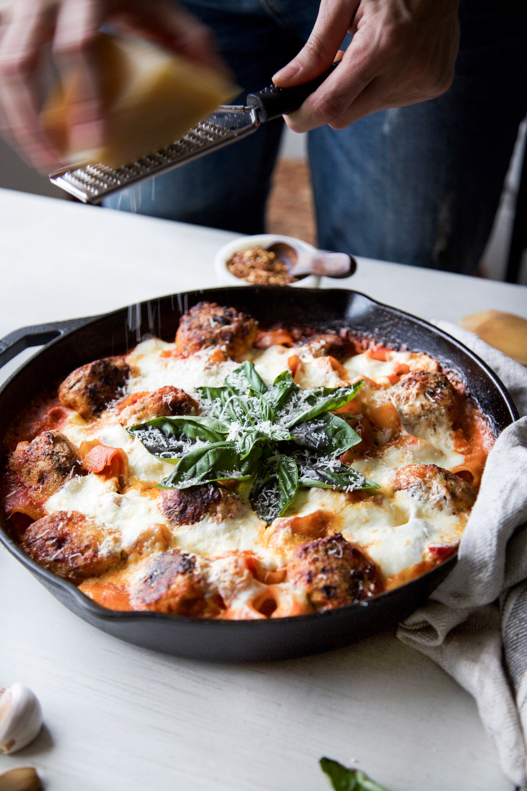 One-Pan-Chicken-Parm-Meatball-Burrata-Pasta-Bake5.jpg