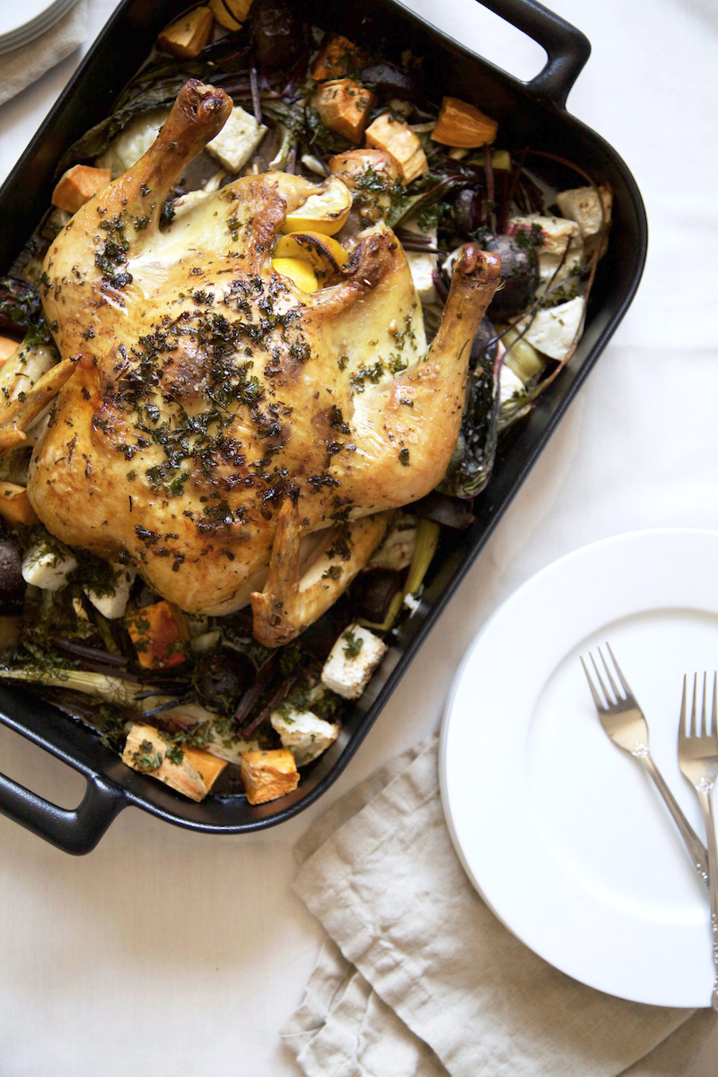 PERFECT ROAST CHICKEN -