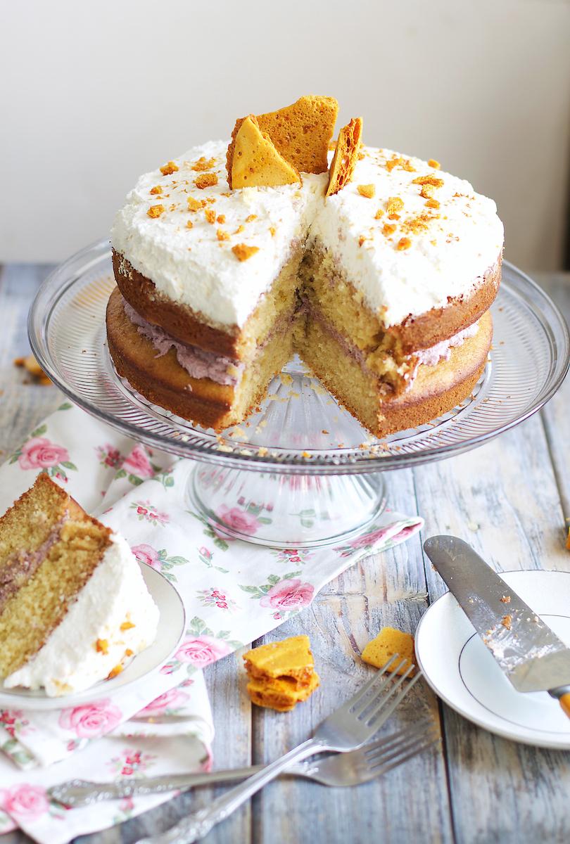 Honeycomb Cake - Serves 10