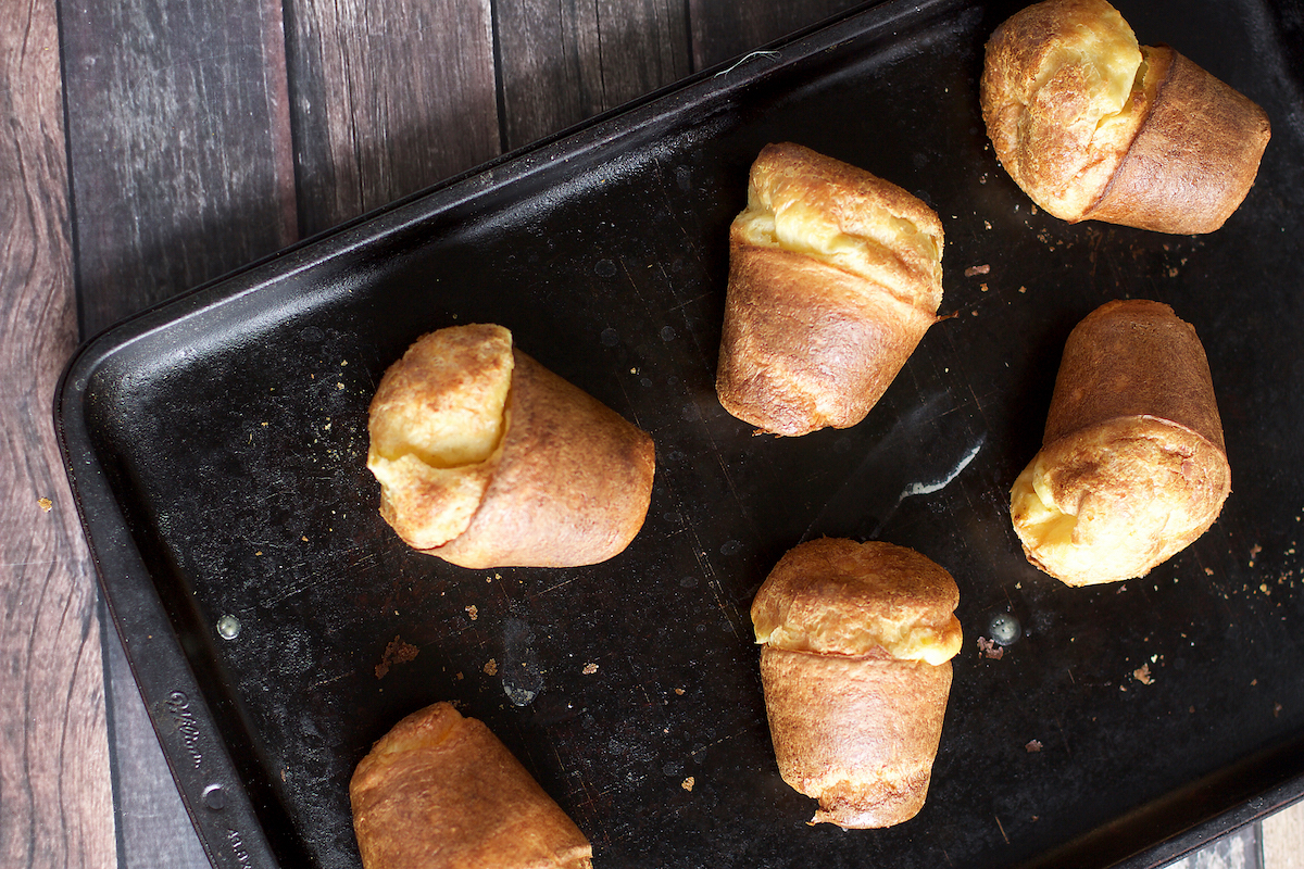 PERFECT POPOVERS - Serves 6