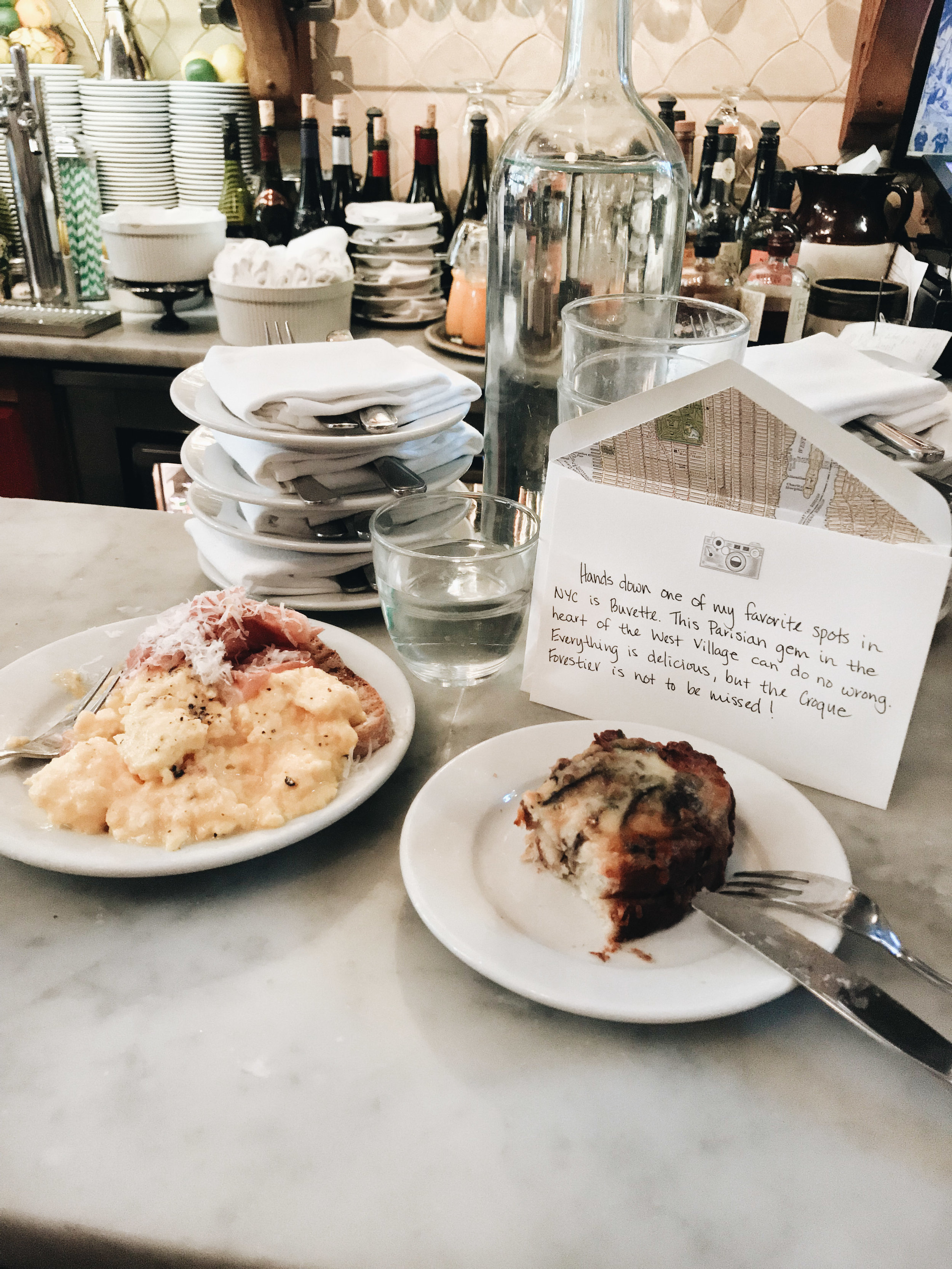 A Brunch Not to Be Missed - (Buvette, West Village)
