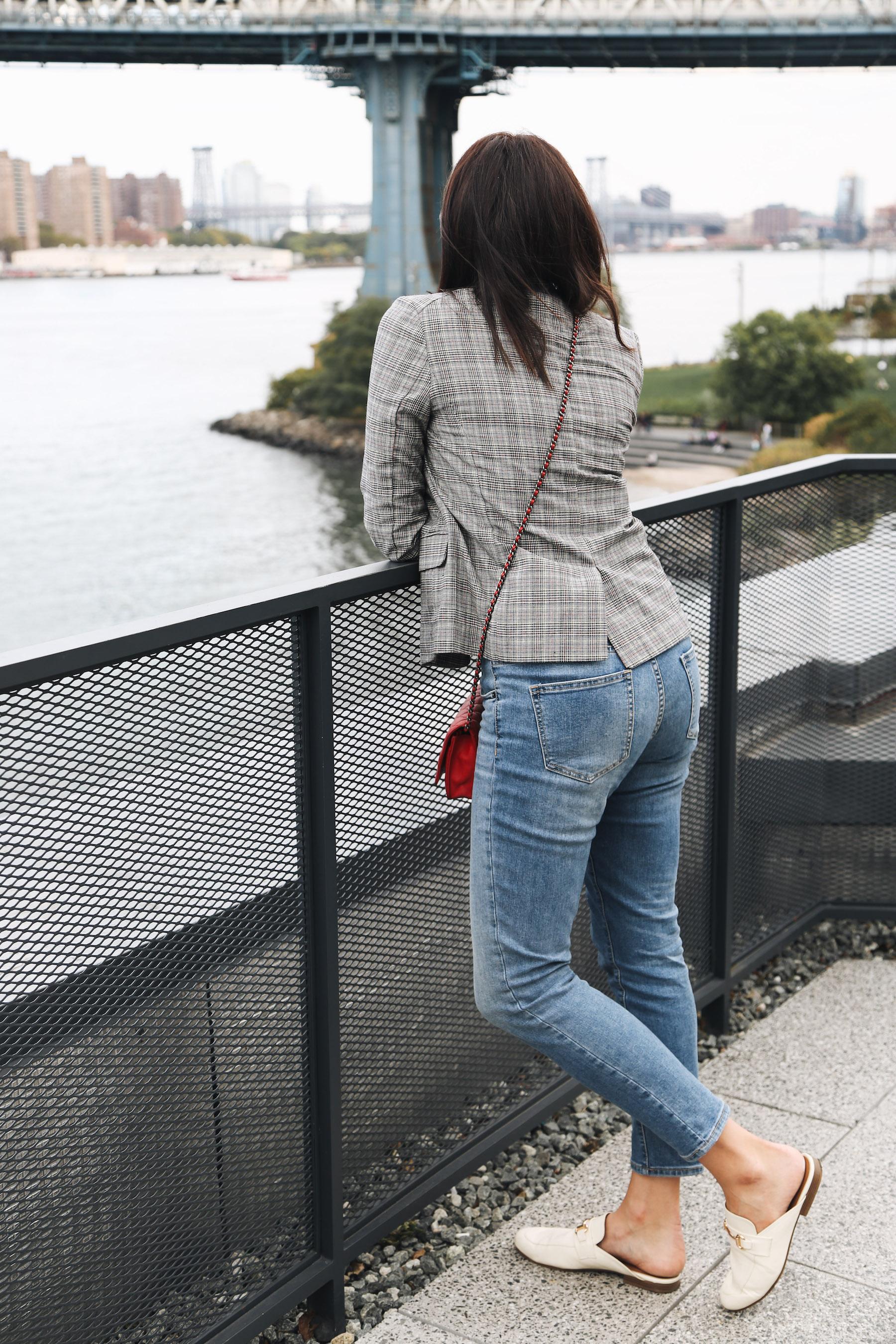 plaid blazer for fall in nyc1.jpg
