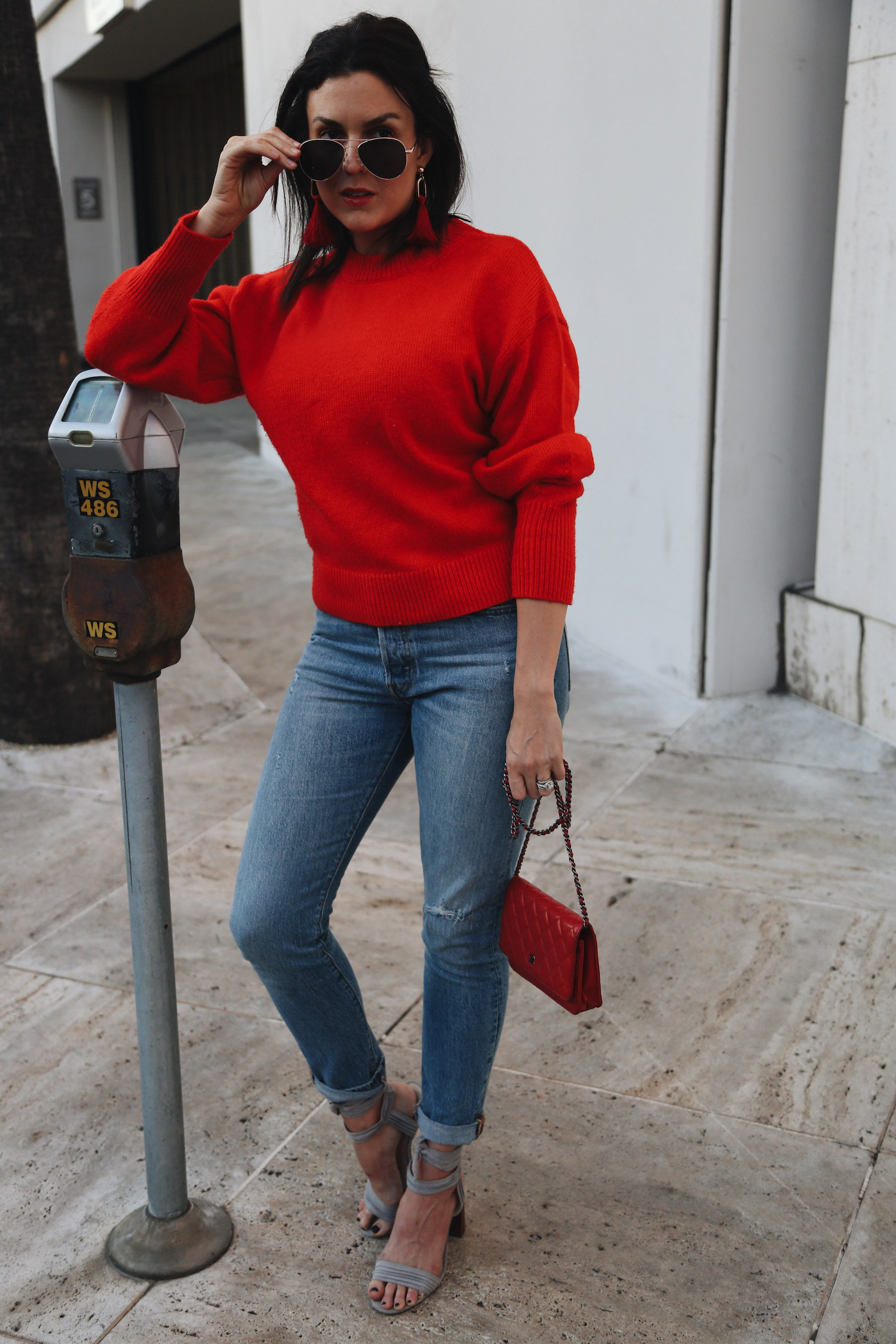 casual holiday outfit with red sweater2.jpg