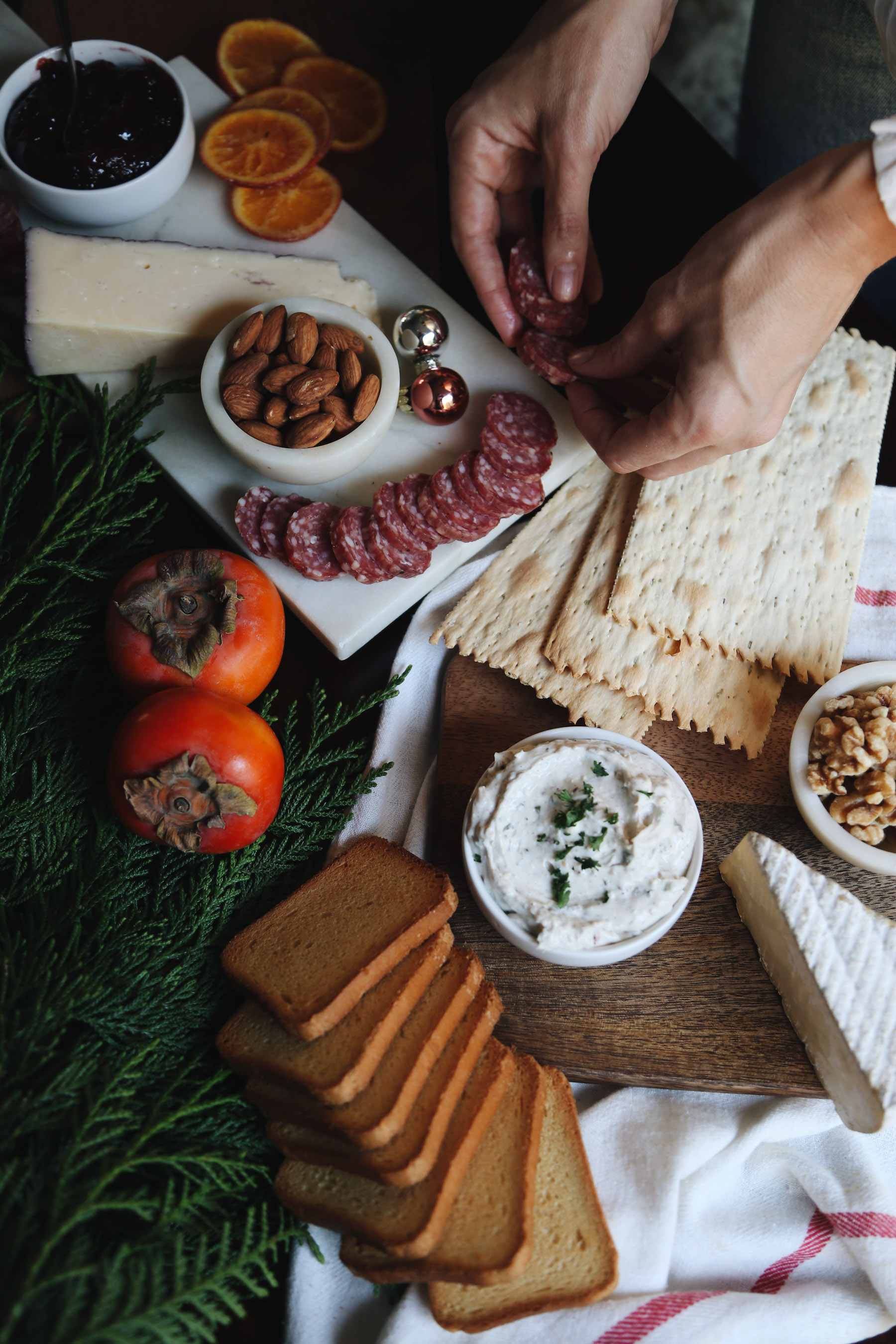 how to create a holiday cheeseboard for under 35 dollars2.jpg