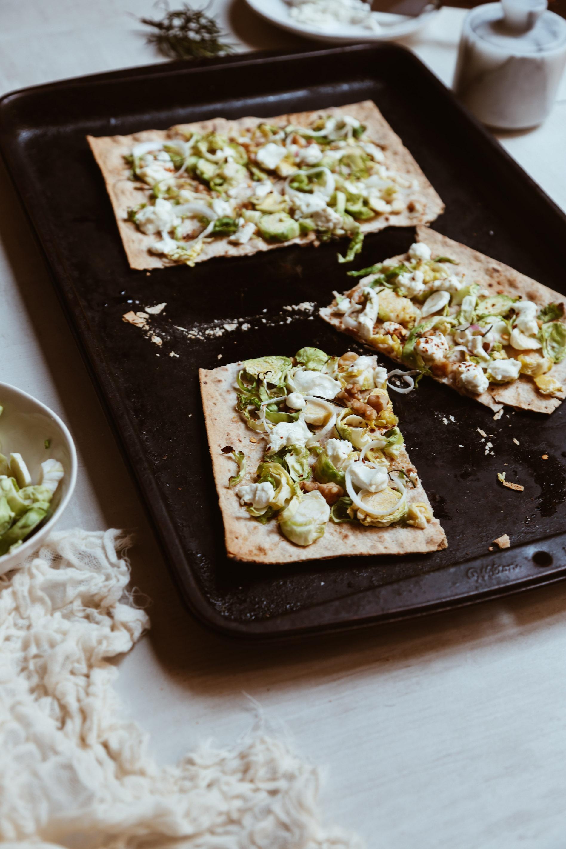 Trader Joe's Dinner Hack Recipe-easy Brussesl Sprouts Flatbread.jpg