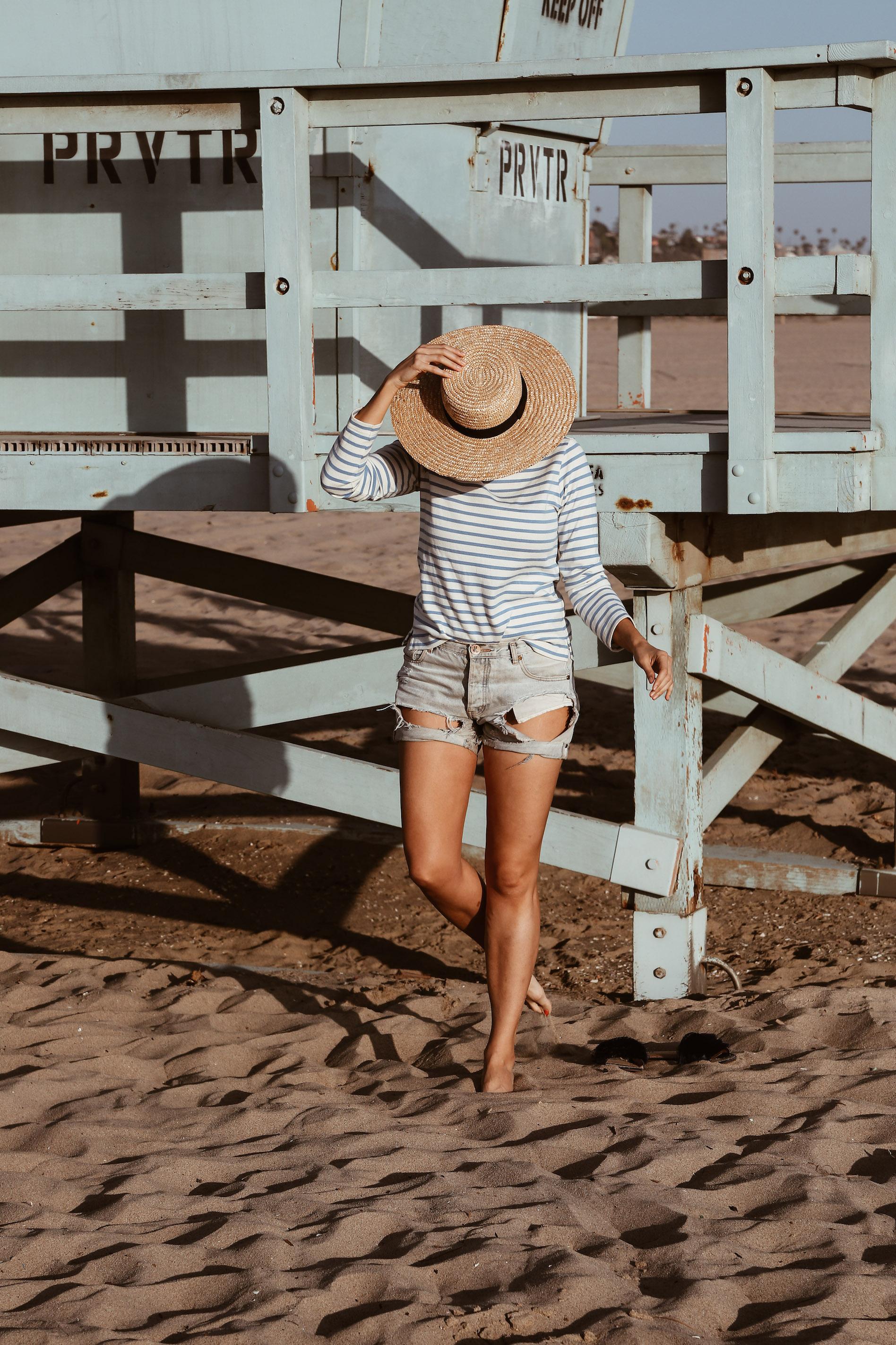 striped shirt and denim cut-offs-3.jpg
