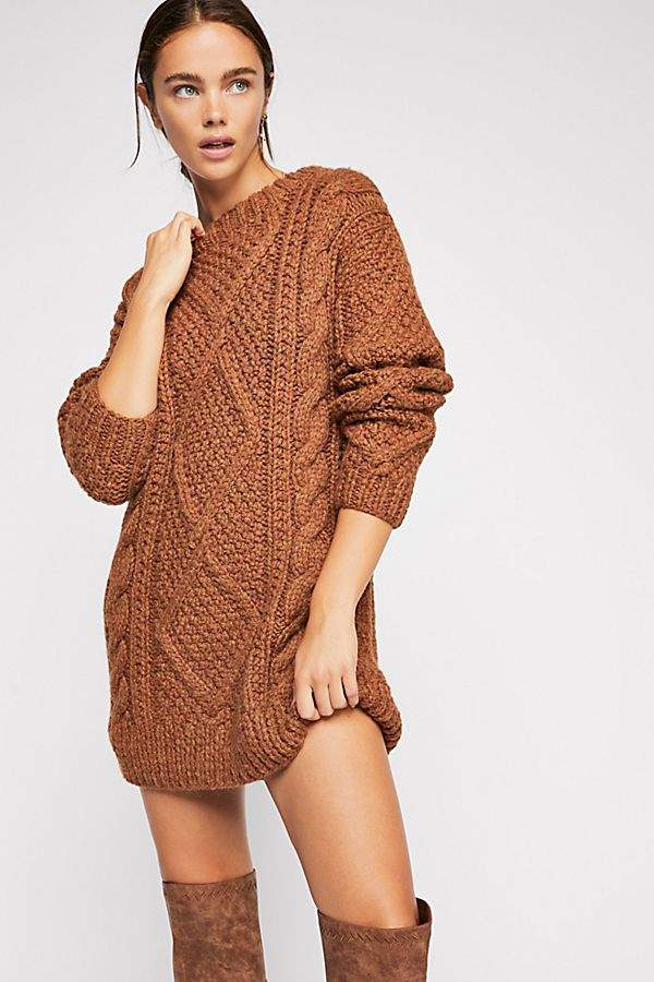 SWEATER DRESS - for when you want to keep it chill, but you gotta dress up