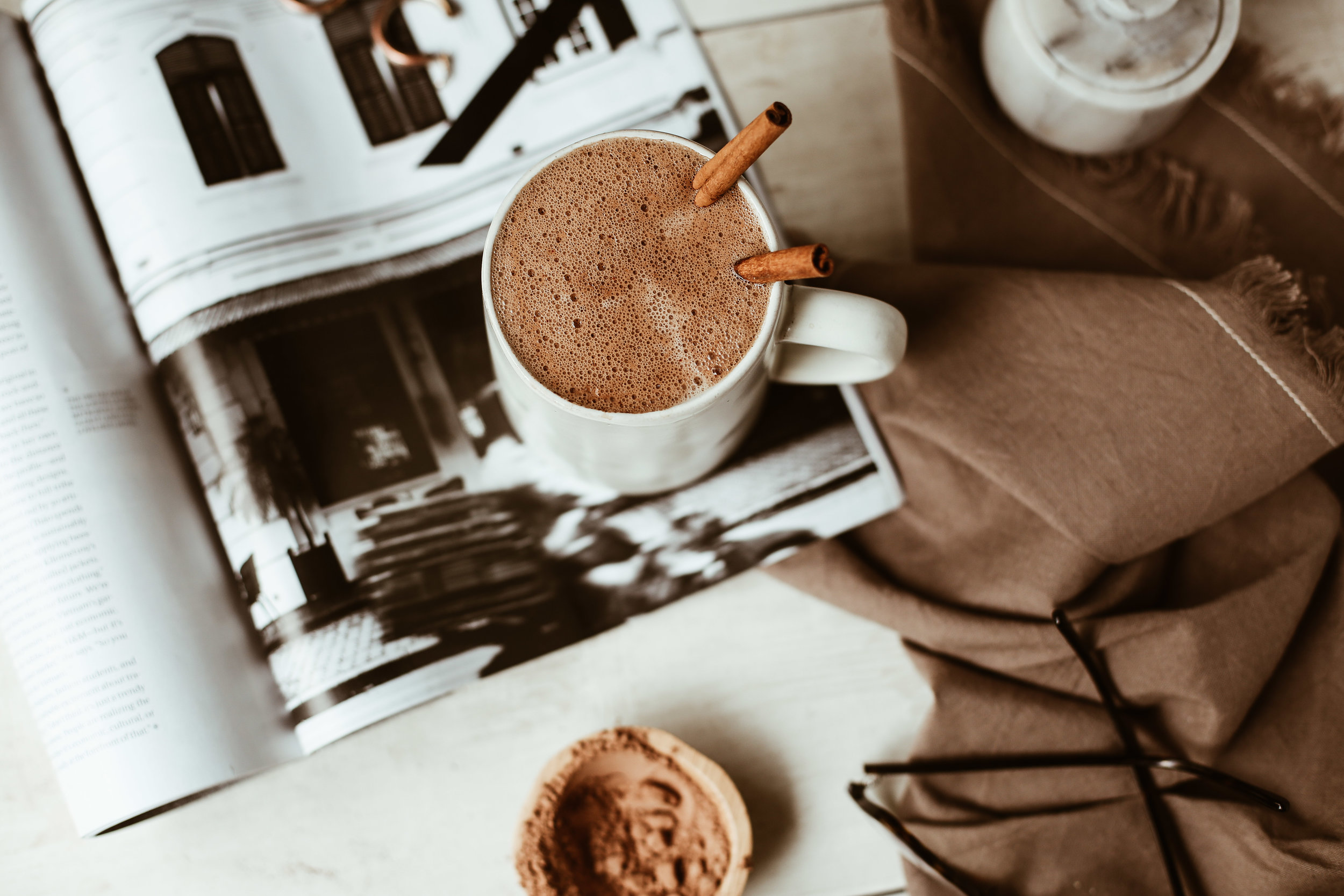 MEXICAN HOT CHOCOLATE WITH CBD OIL - SERVES 1