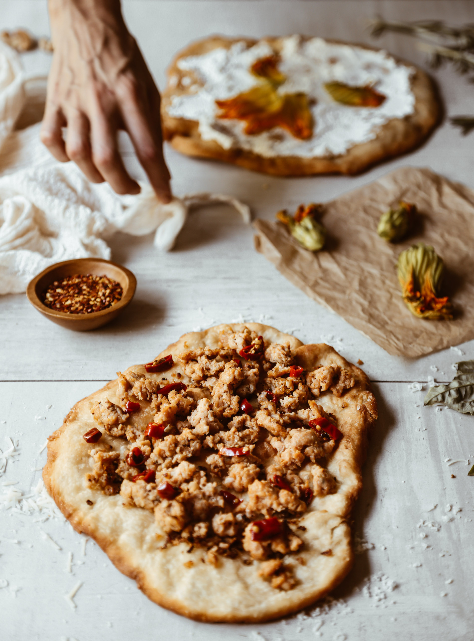 fried pizza with squash blossoms-4.jpg
