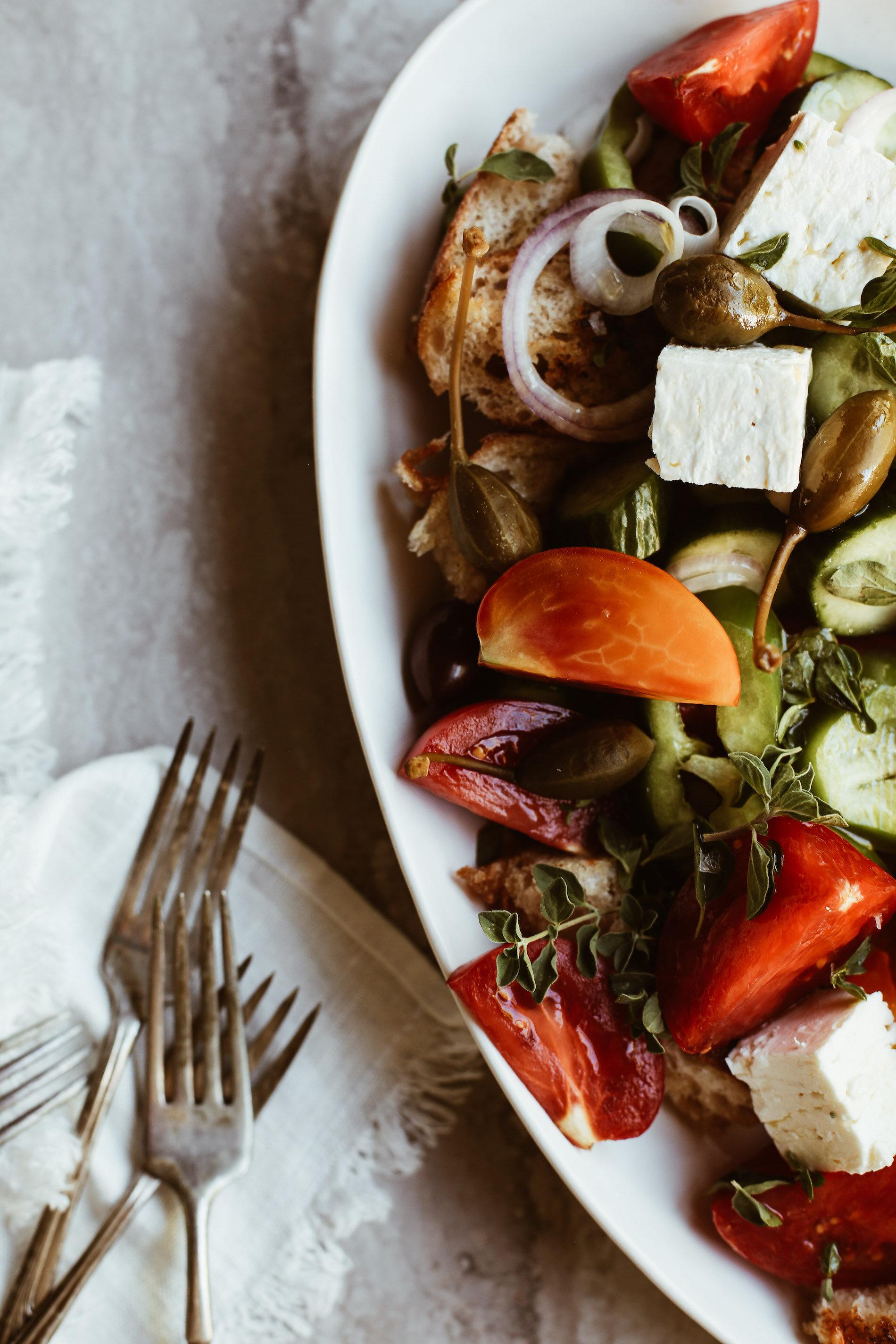 greek salad ingredients