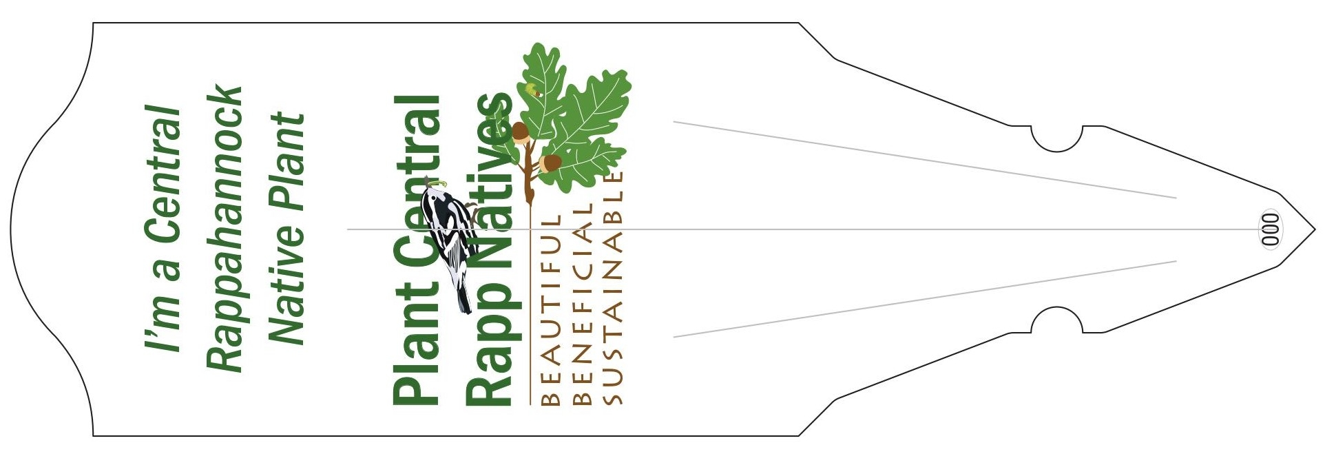 "Be sure to look for the ""Plant Central Rapp Natives"" plant tag during your next visit!"