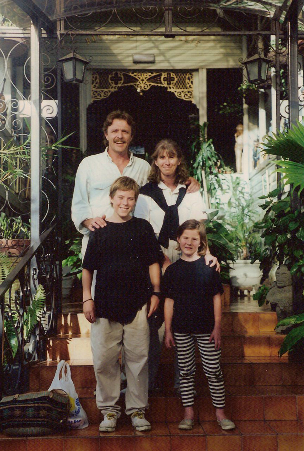 Natalie, Age 7, and Family