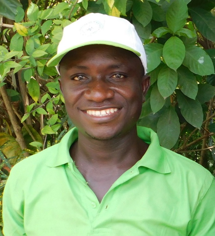 """Fofee Ndorbor, 25 years old, a student in EDC's adult basic education classes """"ABE"""" in Liberia."""