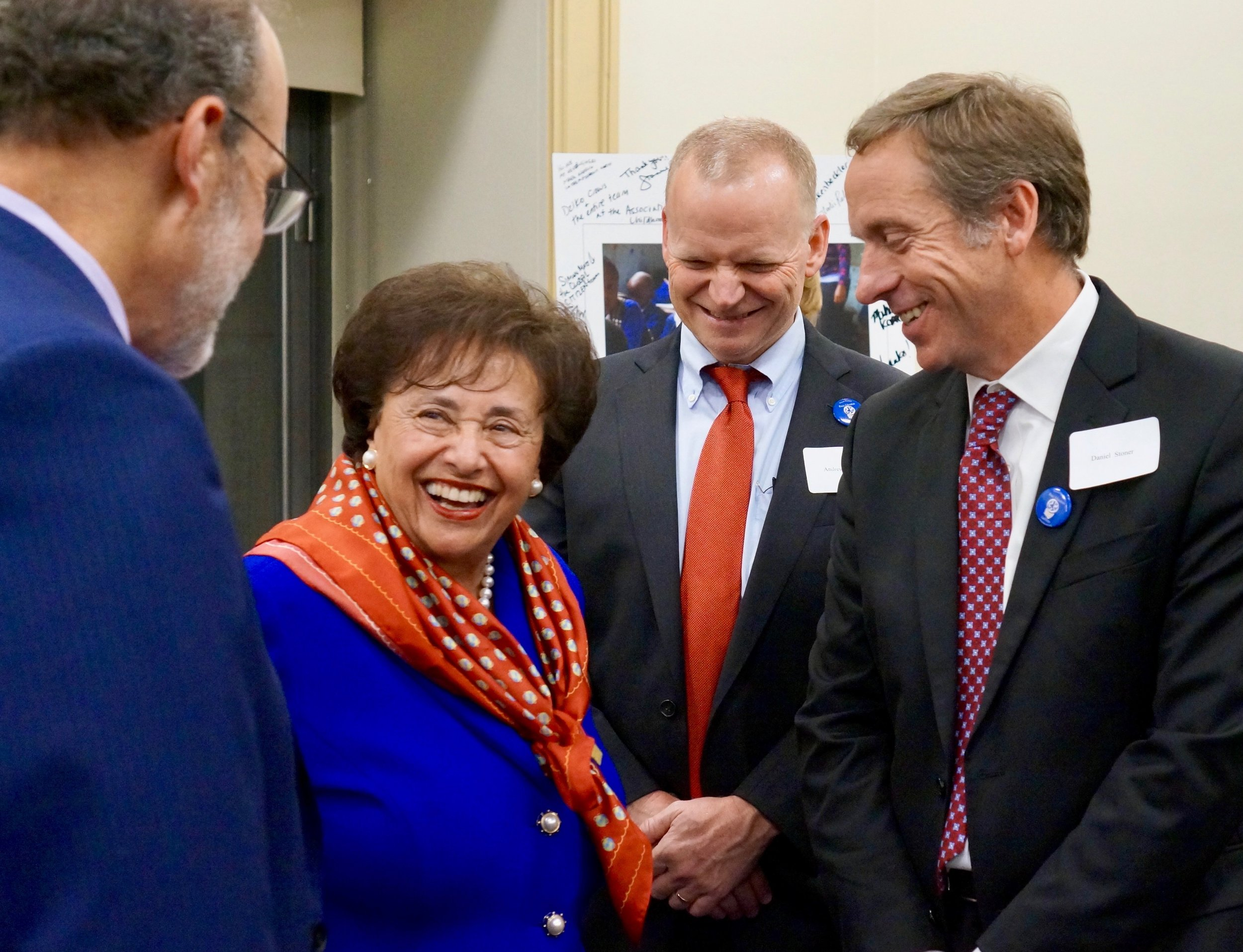 BEC Exec Board Members with Nita Lowey.jpg
