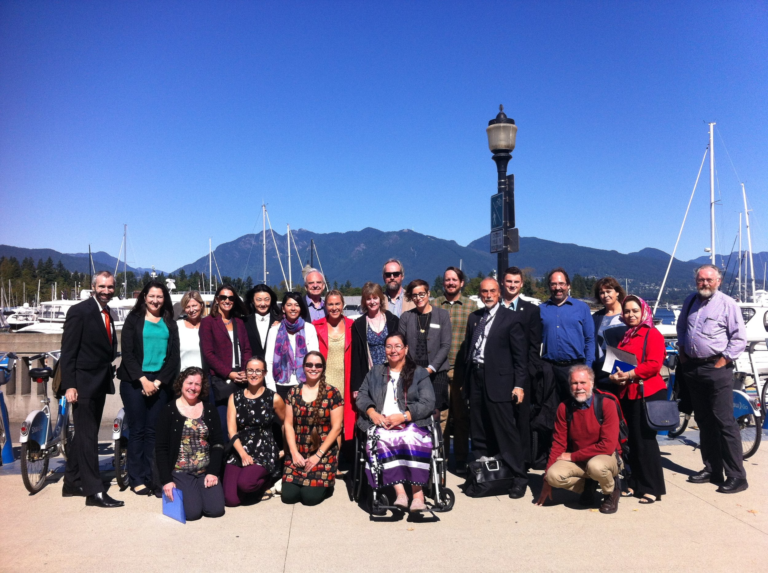The RCE in the Americas Conference Group - Vancouver