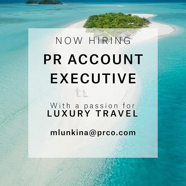 PRCO Russia is looking for an enthusiastic PR Account Executive, with a passion for travel and hospitality, to join our agency in Moscow. The ability to speak advanced or fluent English as well as having previous experience in the PR industry is required.  The new team member will work across an exciting portfolio of luxury hotels and resorts and hospitality projects worldwide.  The ideal candidate will be: - Passionate about the travel - Interested in print, digital and social media - Organised, proactive, ambitious and eager to learn - Confident, friendly and energetic - Able to work in a fast-paced environment - Able to juggle multiple project tasks at once