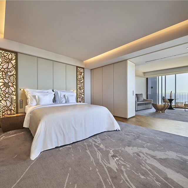 The recently opened @savoypalace , located in the capital of Madeira Island, Portugal offers suites with incredible ocean views. The beautiful interior decor is largely inspired by the island's rich culture.