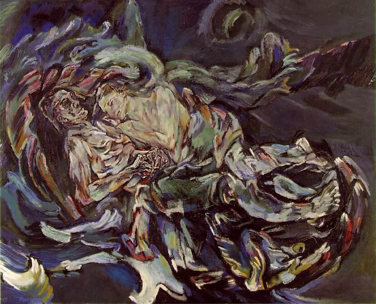 Oskar Kokoschka's  The Bride of the Wind  (1913), a bittersweet memory immortalised.