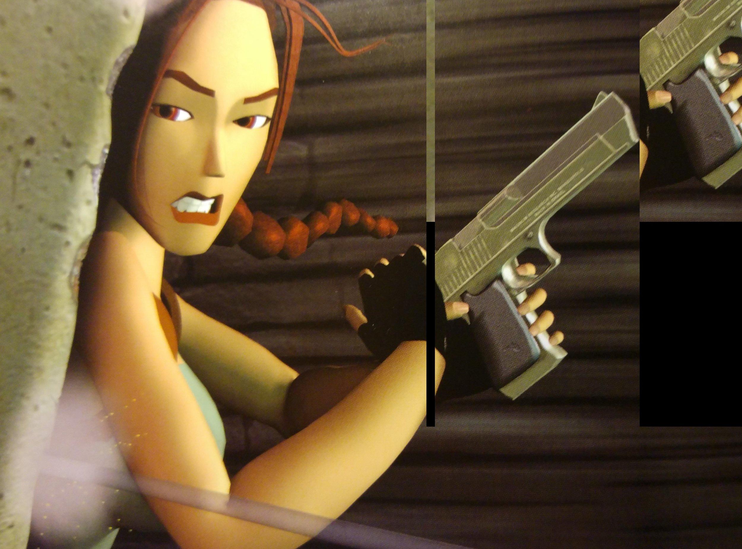 Lara in  Tomb Raider III.