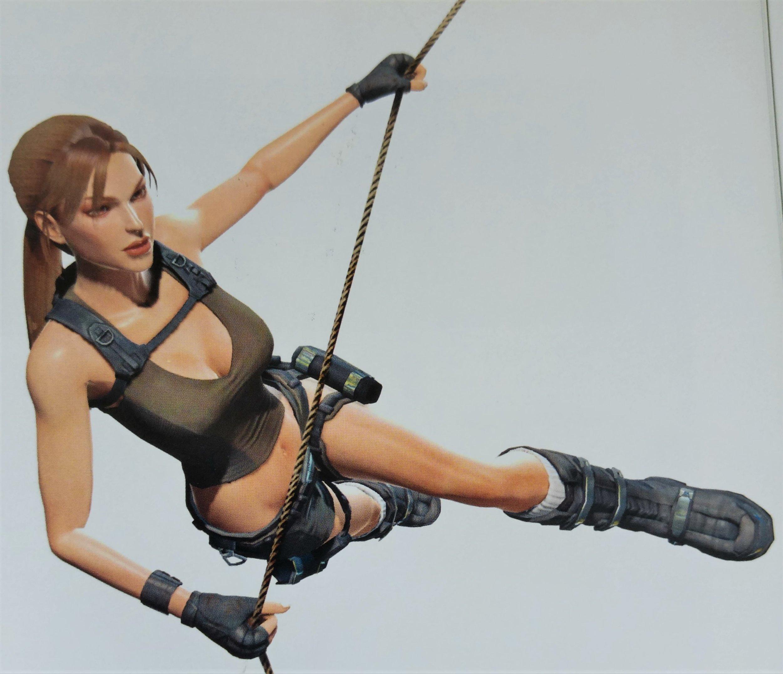 Swinging around in  Tomb Raider: Underworld