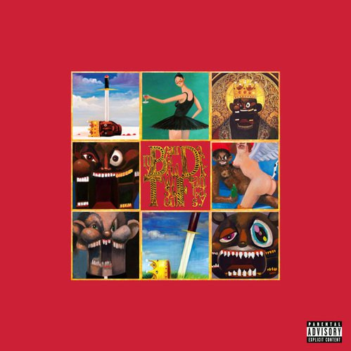 Cover art for  My Beautiful Dark Twisted Fantasy  by Kanye West.