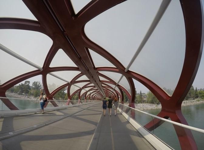 Peace Bridge, Calgary
