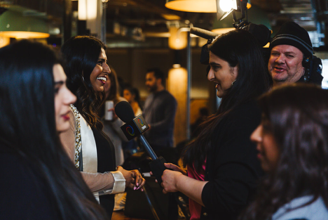 The Didihood launch party in April 2018, Photo by:  Sonia Saund .