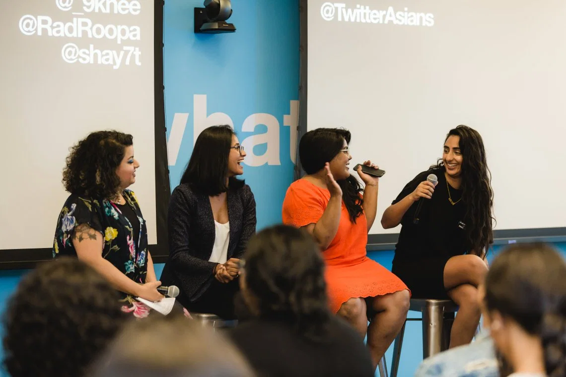 Didihood panel discussion at Twitter Canada, photo by:  Sonia Saund .