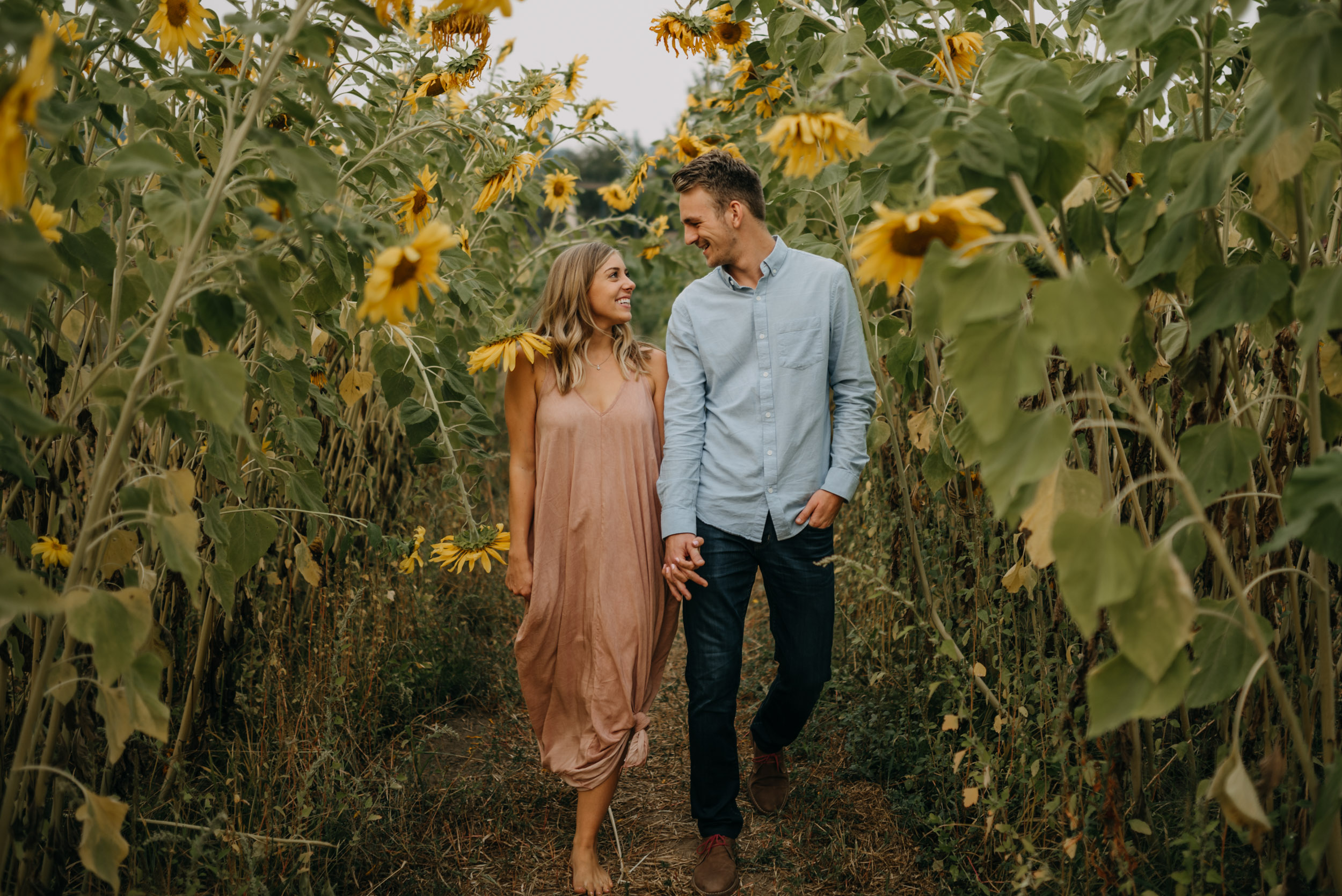 Sauvie-Island-Oregon-Sunflower-Portland-Engagement-3962.jpg