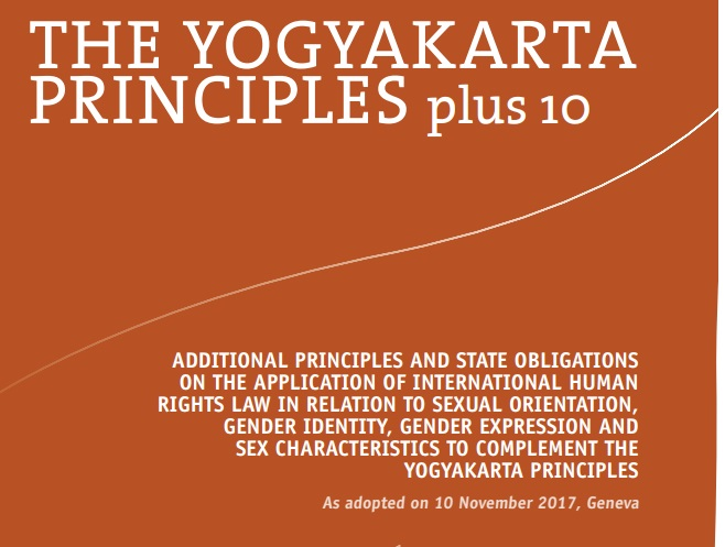 The demands of the Yogyakarta Principles Plus 10 are even more extreme.
