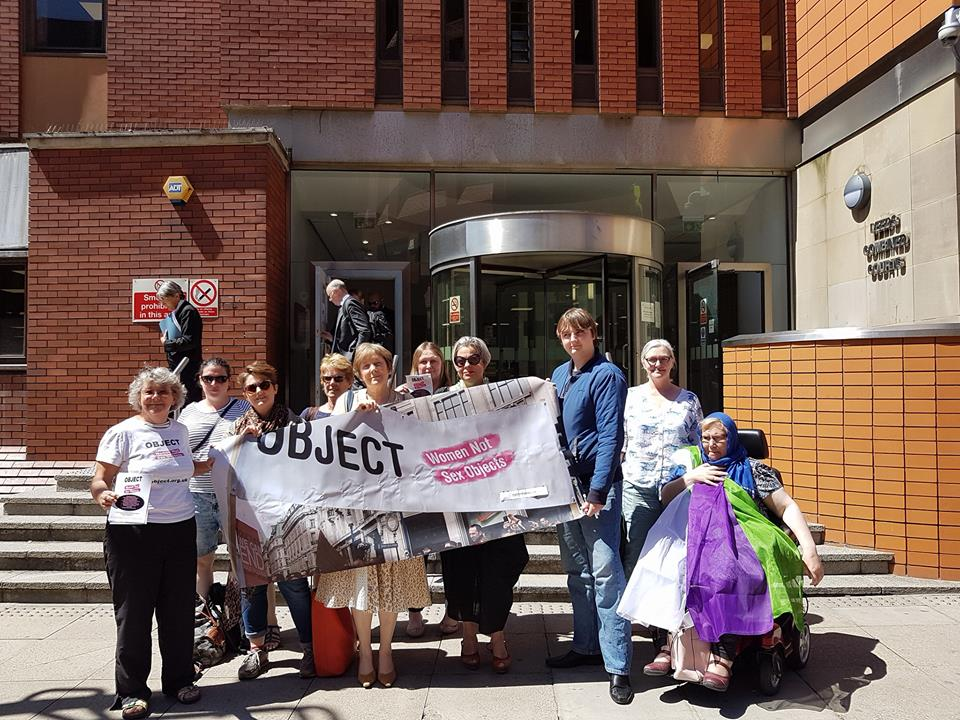 OBJECT supported the campaign against the licensing of a strip club in Sheffield. OBJECT attended the judicial review in Leeds high court - the council were forced to concede that community impact had not been properly assessed when licensing the strip club.