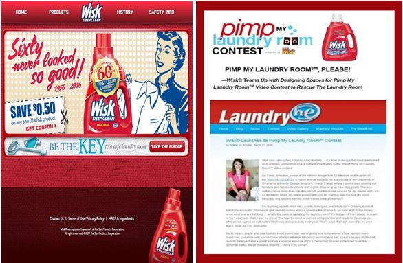 Wisk Laundry Room Contest