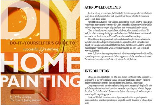 DIY to Successful & Satisfying Home Painting by Debbie Zimmer